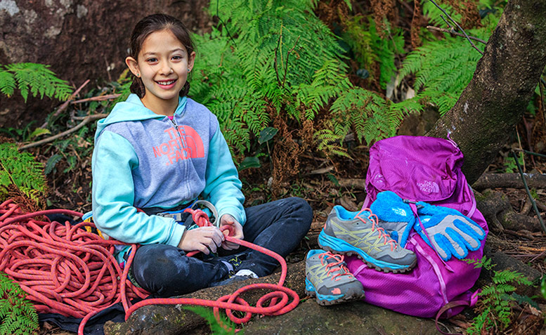 Watch 9-Year-Old Angie Scarth-Johnson Climb Zona 30 (5.13d)